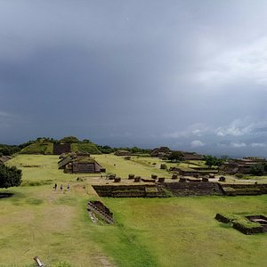 Monte Alban. The ancient capital of the Zapotecs was later occupied by the Mixtecs.