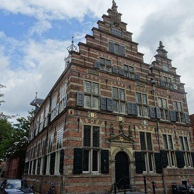 -Naarden Vesting;Rijksmonument Stadhuis Naarden uit 1601-