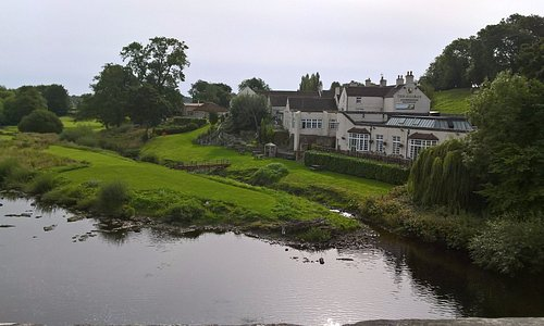 View from the river bridge