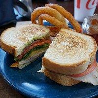 San Francisco Sandwich with Onion Rings - Keowee Towne Market, Salem, SC