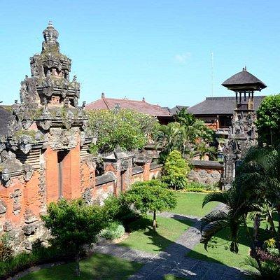 Courtyard inside the Negeri Propinsi Museum in Denpasar