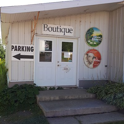 The Boutique entrance