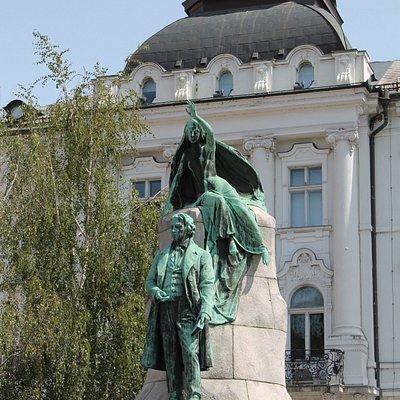 Statua Prešeren