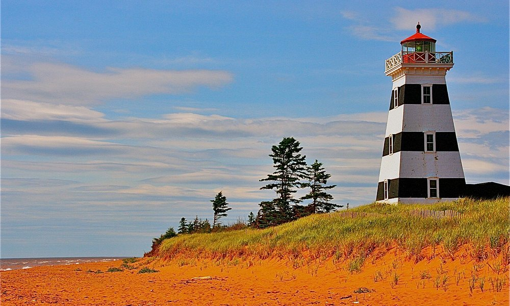 West Point Lighthouse, PEI.