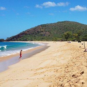 "Makena state park aka ""big beach"""