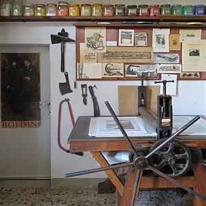 Casa Museo Sigfrido Bartolini - Laboratorio - Il Torchio