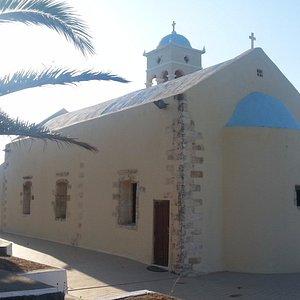 The church at noon