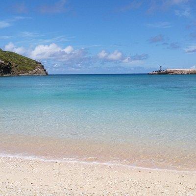 晴天のナーマ浜