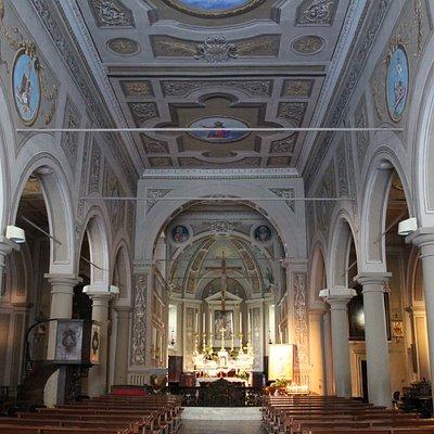 Interno Chiesa di San Nicolo' di Bari