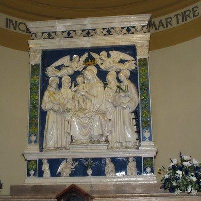 Andrea della Robbia - Madonna mit Kind
