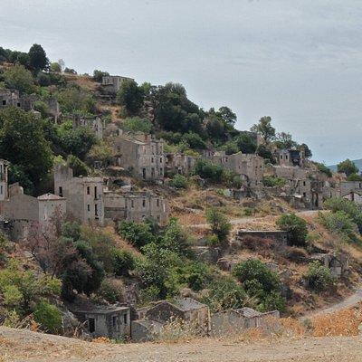 Gairo vecchio, borgo abbandonato nel '51