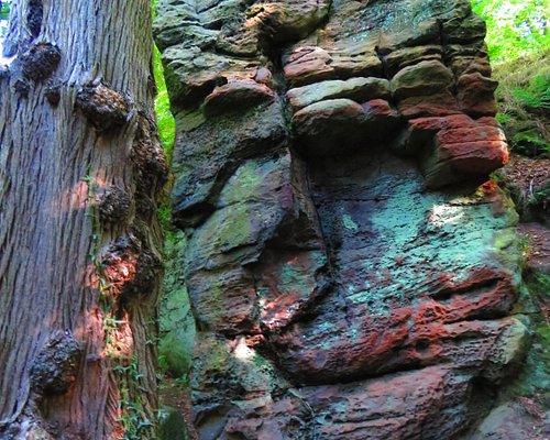 unusual formations