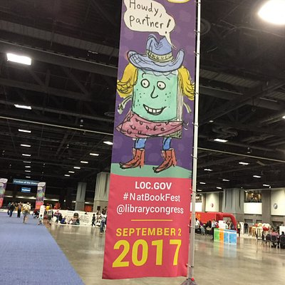 Come one come all to the National Book Festival!