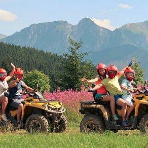 Summer activities - quad bikes in Zakopane