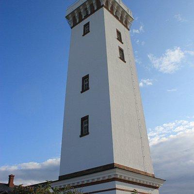 Alter Leuchtturm auf Helnaes