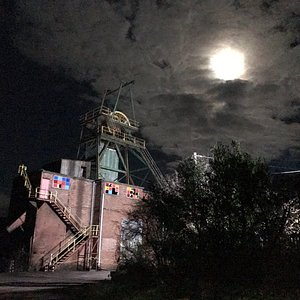 Moon over Florence Mine