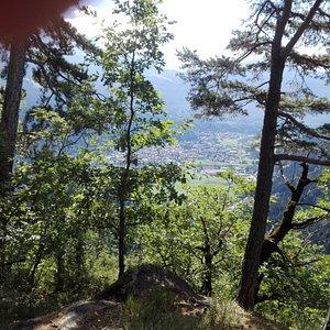 Panorama dall'Eremo