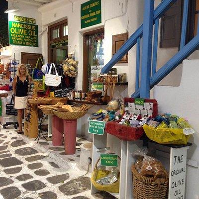 Narcissus Olive Oil Shop