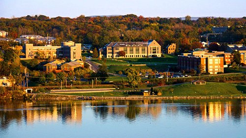 Marist College is only located 3 minutes down the road.