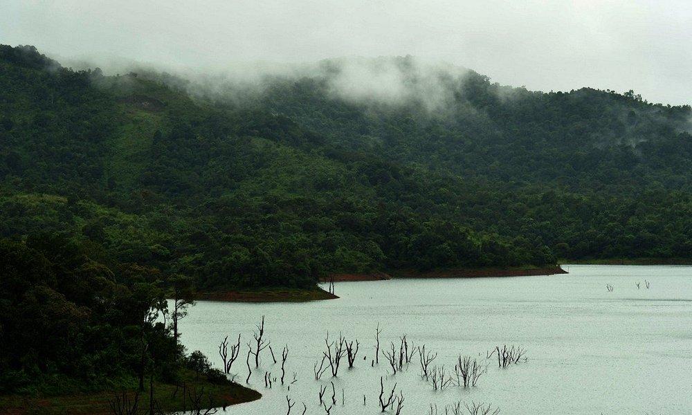 Banasura Dam in Monsoon