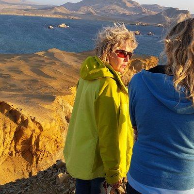 Tourist at the Golden Shadows Trek