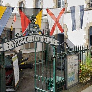 Entrée - Cour du Musée Maritime du Cap Sizun