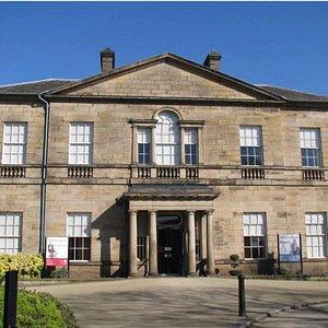 Clifton Park Museum, built in 1783 for Joshua Walker.