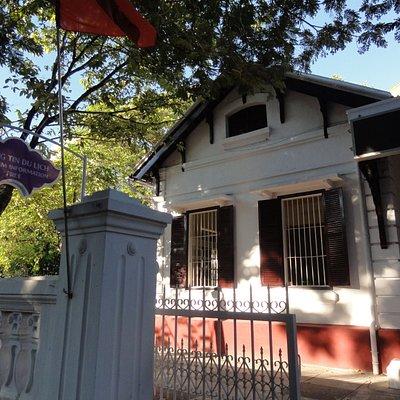 サイゴンモーリンホテルの西側にある一軒家