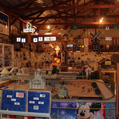 This museum has a plethora of train memorabilia and even more layouts are in the works.