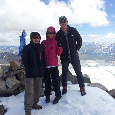 4050 m. Malchin Peak