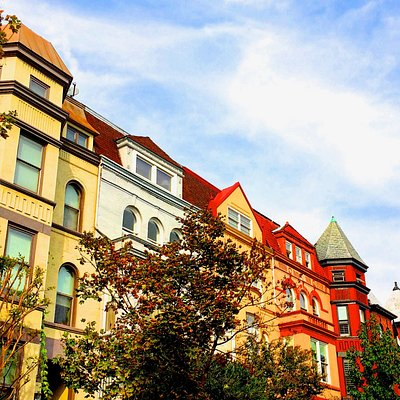 Row houses in Adams Morgan
