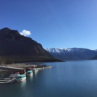 Lake Minnewanka view (taken from the 1941 dam)