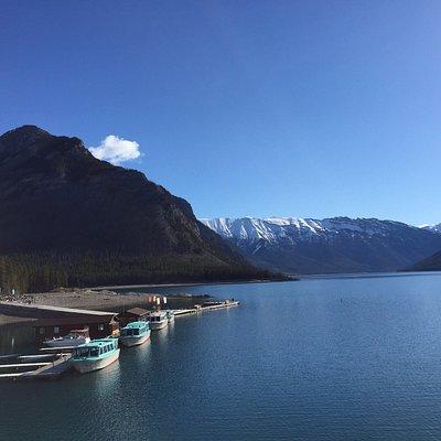 Lake Minnewanka view (taken from the 1941 dam)