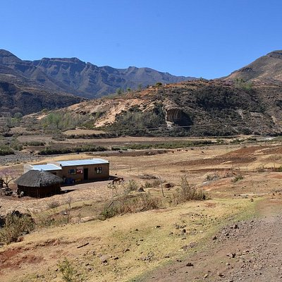 A cafe/Shebeen in Lesotho, near Butha Buthe