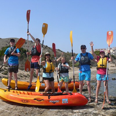 Kayak Safaris are suitable for everyone from 5 to 75!