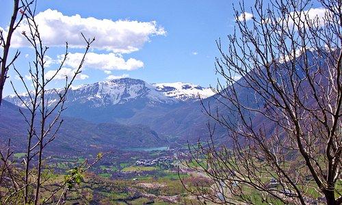 Mirador del Valle de Benasque: Linsoles y sierra de Chía