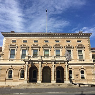 Hobart Town Hall - the centre of the city