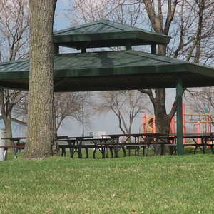 Covered picnic areas