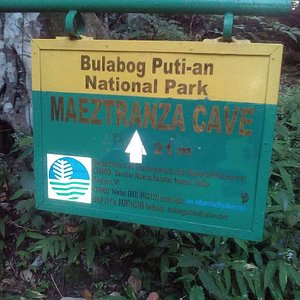Signage on the National Park.