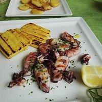 Fine stagione estiva ma gran piatto di pesce!