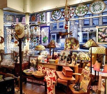 Stained Glass and Antiques