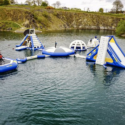 Irelands Newest Inflatable Water park 2017
