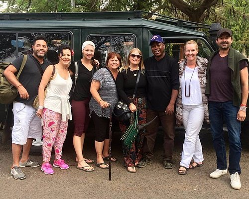 Friends from Chicago after a wonderful safari with Priva Safaris.