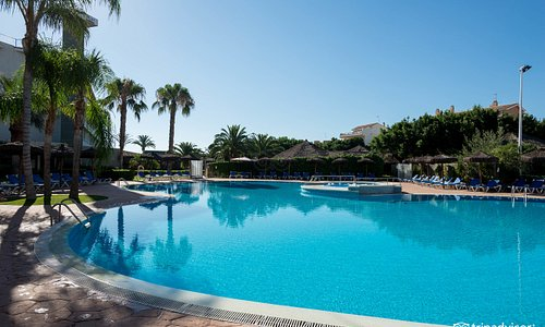 The Pool at the AGH Canet Hotel