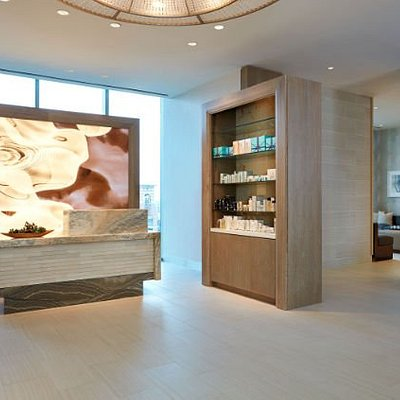 Relax at PURE Spa located at Marriott Marquis Houston