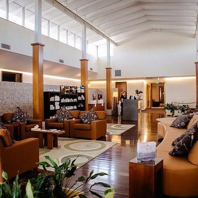 Spa reception