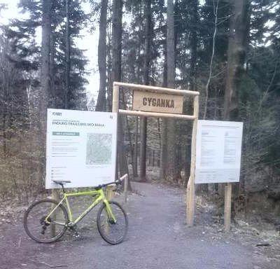 Nawet na takim rowerze się da ;)