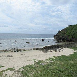 干潮のビーチ