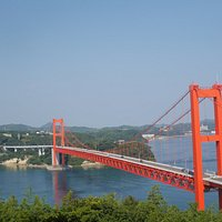 田平公園からの平戸大橋