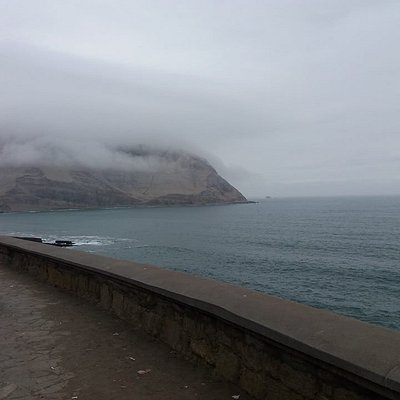 The winter clouds over morro solar and playa herradura